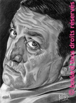 Caricatures et Portraits - Page 2 Lino+ventura+bodard+portrait