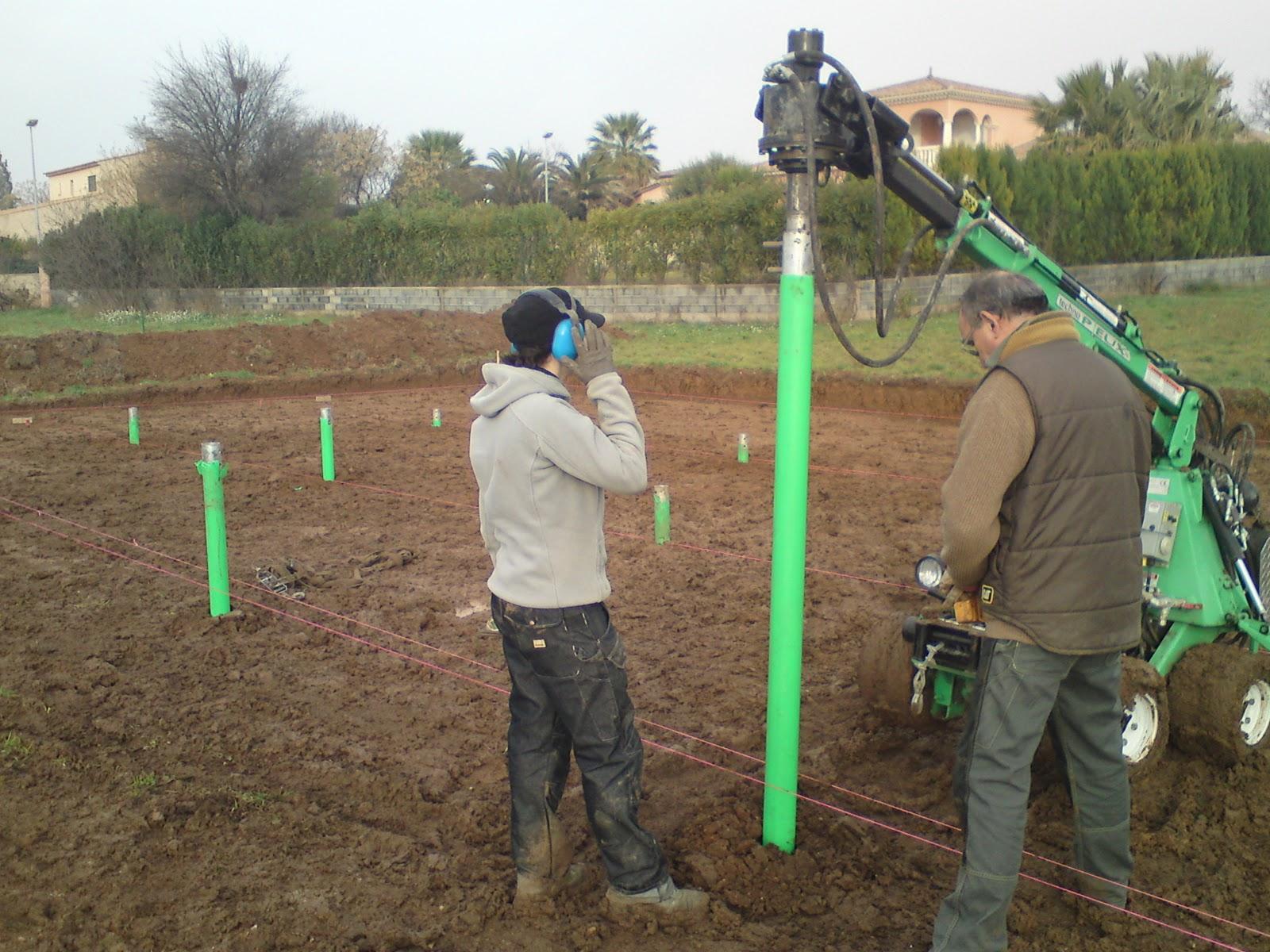 Construction maison cologique bois bbc for Pieux de fondation prix