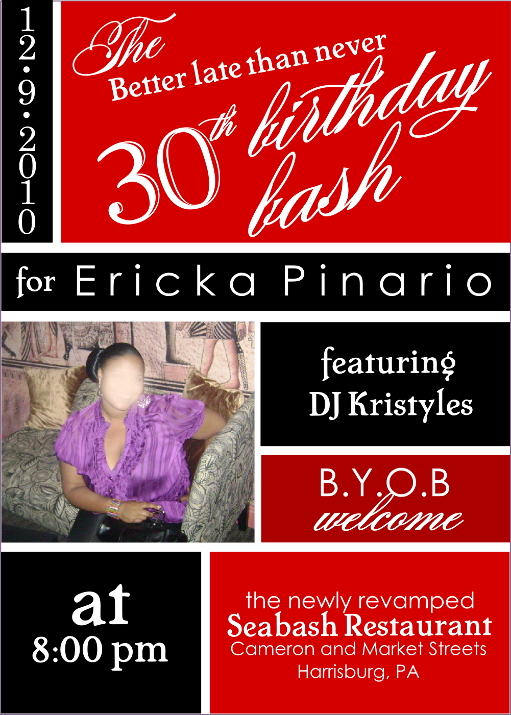 30Th Party Invitations was awesome invitation template