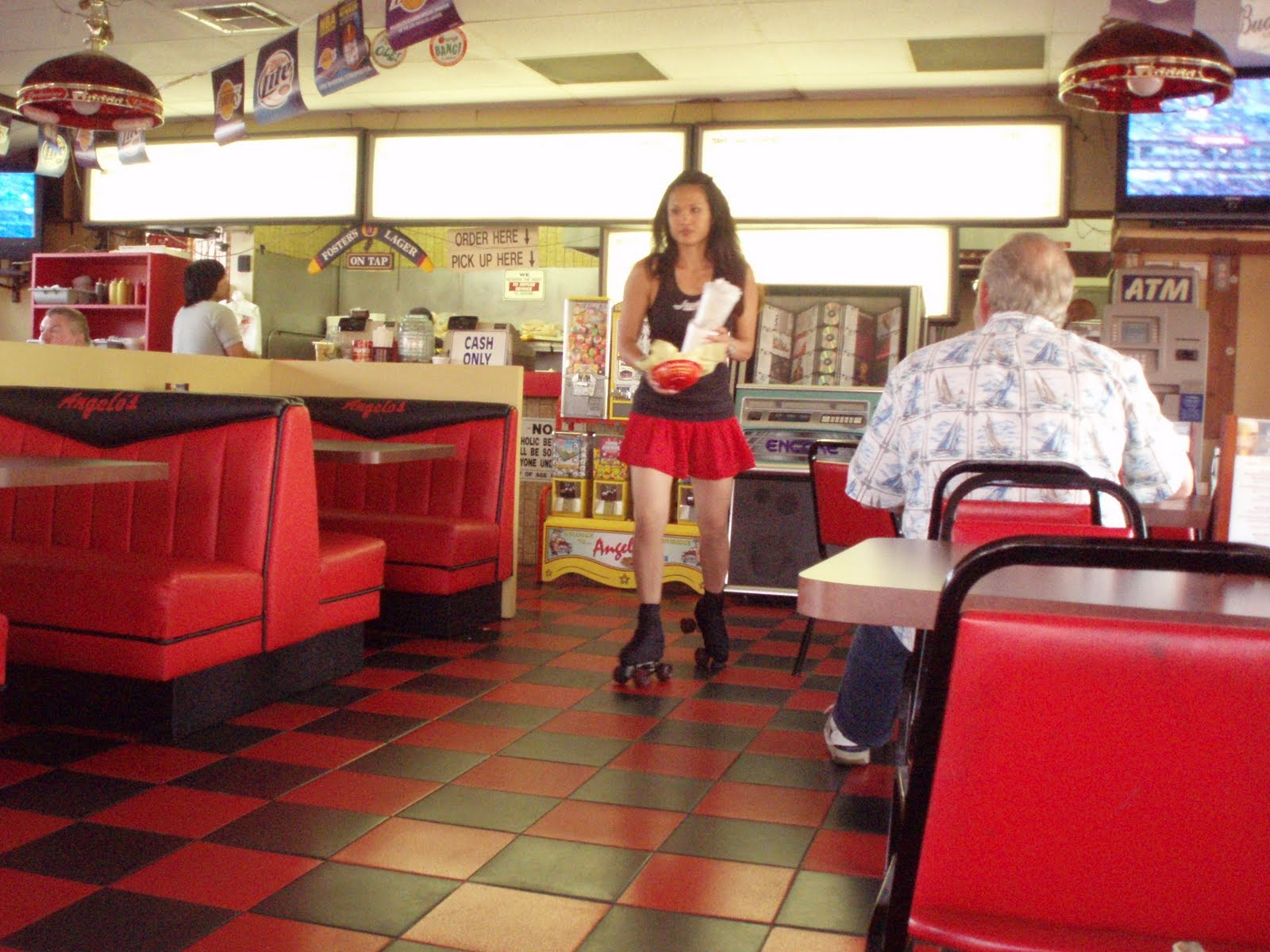Food Coma 911 » Blog Archive Anaheim Angelo's – 50′s Style