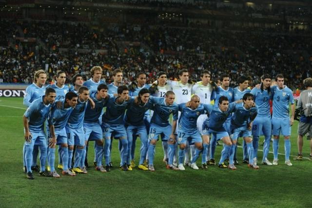 Uruguay en el Mundial de Sudafrica 2010.