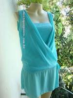 blusa traspaçada
