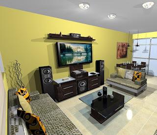 Dise o y decoracion modulo de sala - Modulo diseno de interiores ...