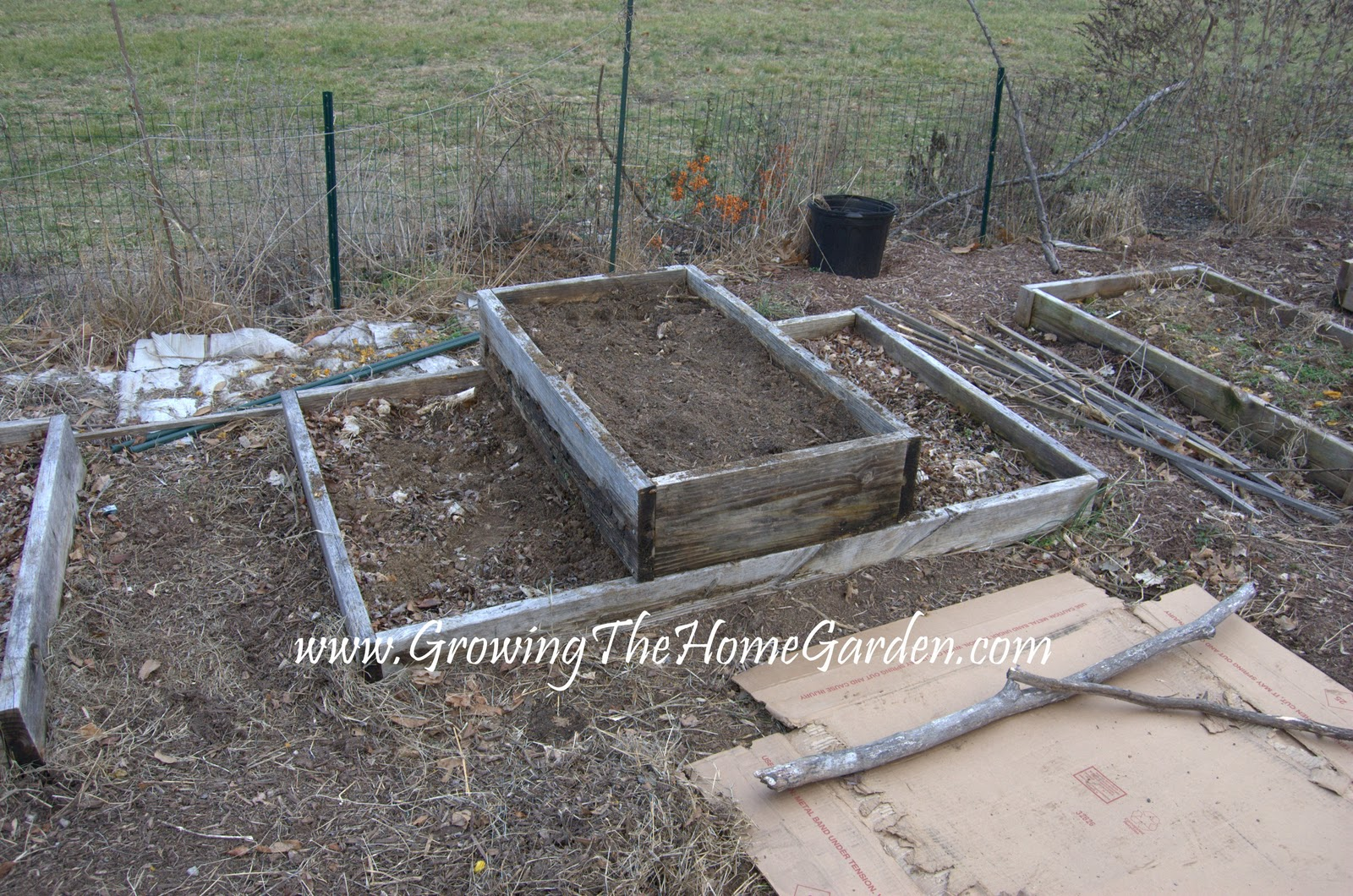 The Circular Raised Bed Growing The Home Garden