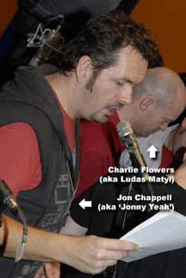 Jonny Yeah and Charlie Flowers: they don't really know each other