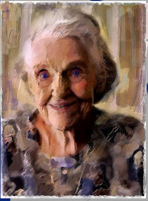 'Old woman' Leslye Bloom
