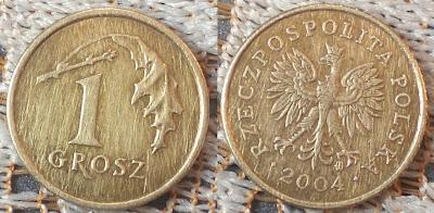 poland 1 grosz 2004