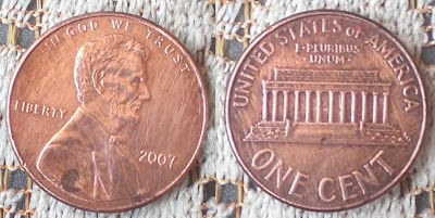 US one cent 2002