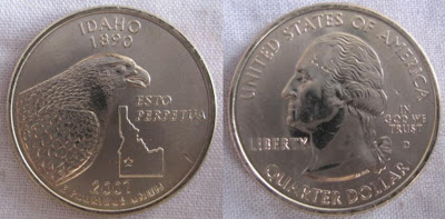 usa idaho state quarter