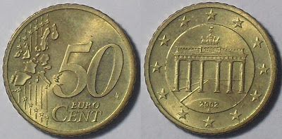 germany euro 50 cent 2002