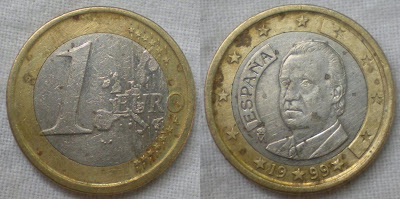 spain 1 euro 1999