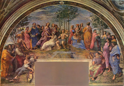 the parnassus by Raphael