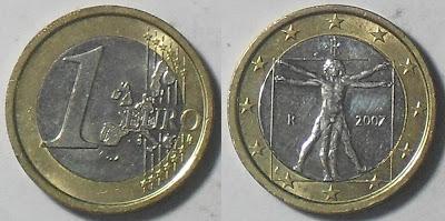 italy 1 euro 2007