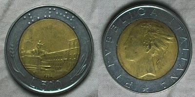 italy 500 lire 1984