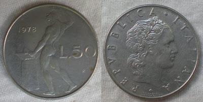 italy 50 lira 1978