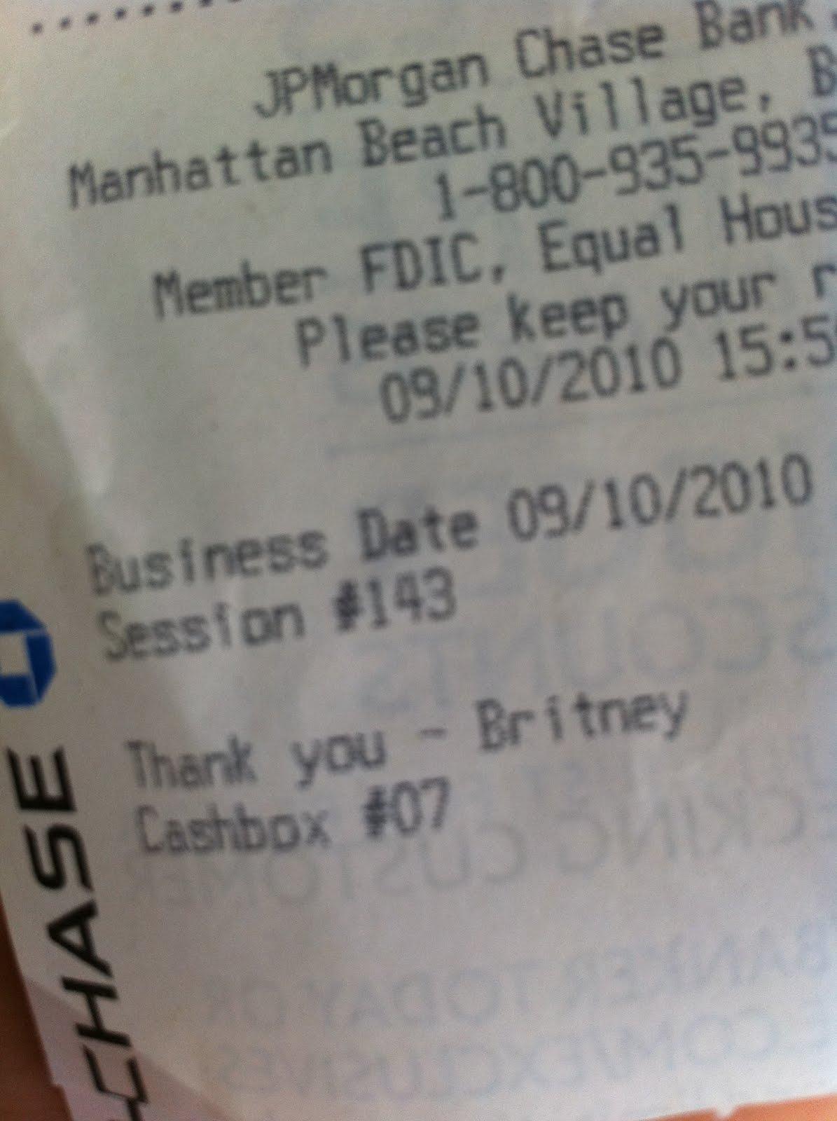Pin Deposit Receipt On Pinterest