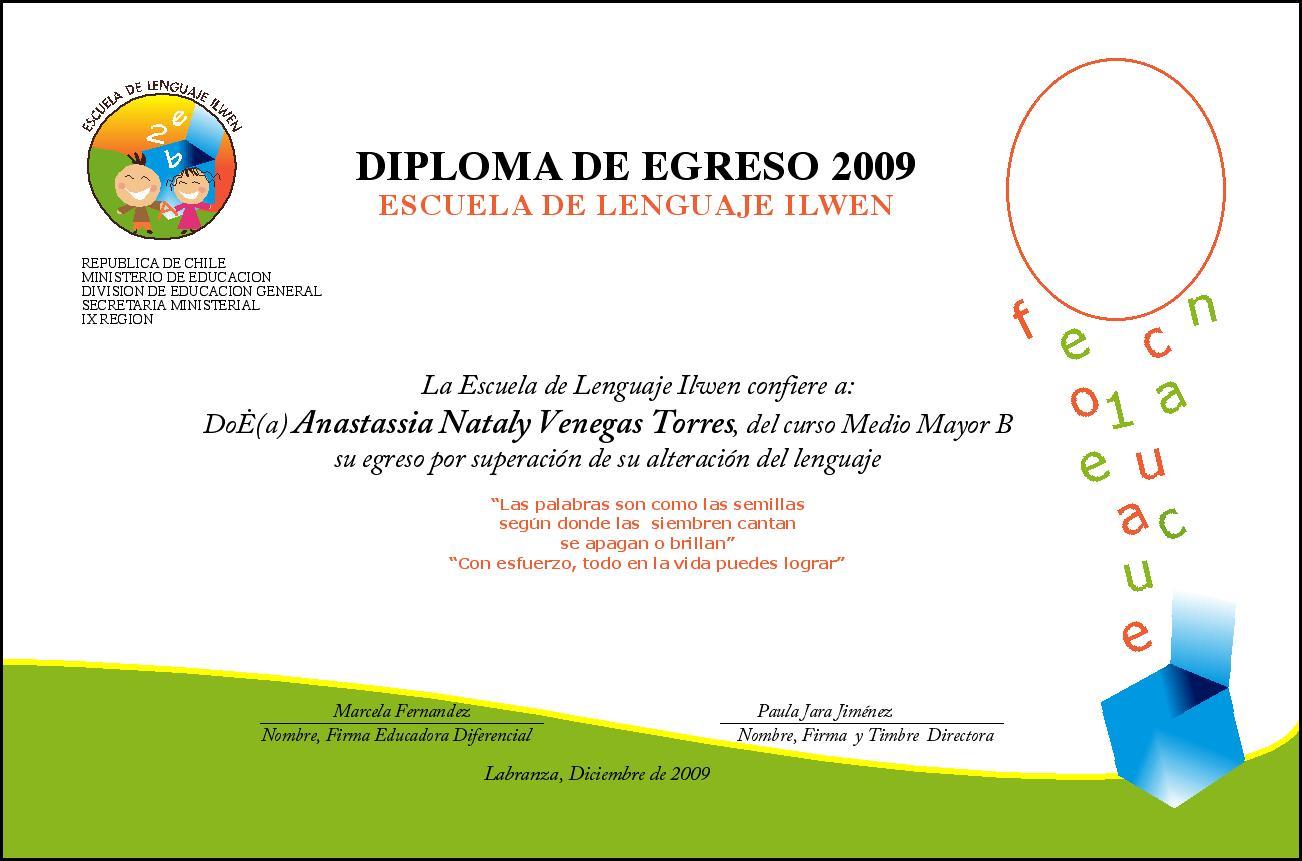 Bordes Para Diplomas