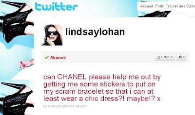 lindsay twitter