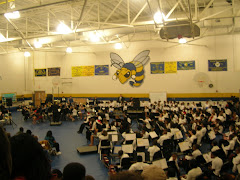 Hand Middle school Christmas concert