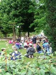 School Children - Les Jardins des Plantes