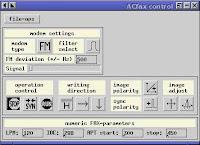 Acfax, riceve fax tramite un radioricevitore e una scheda sonora