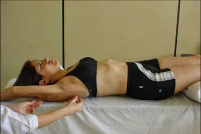 Flexão do ombro
