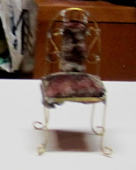 silla de alambre