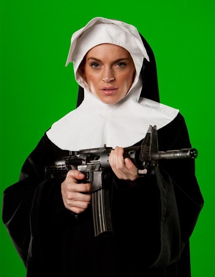 Lindsay Lohan Machete Body Double
