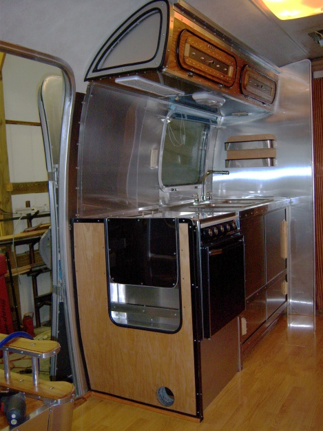 Airstream Renovation Other Peoples Restoration Pictures