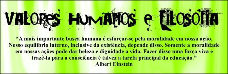 Filosofia e Valores Humanos - Colégio Apoio