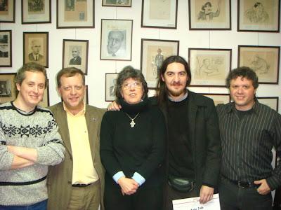 Con Rodolfo Fucile Valor Destacado 2009