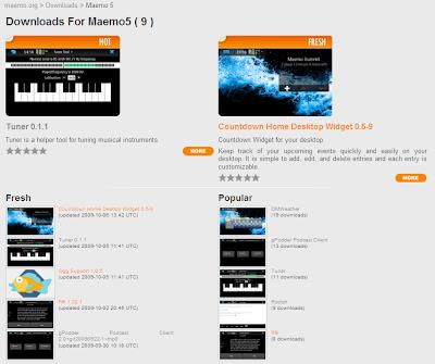 Maemo 5 Downloads