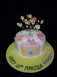 Shooting Stars Cake