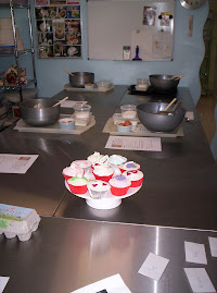 Baking Cup cake class.