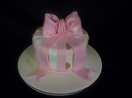 Beginners cake class Birthday bow cake