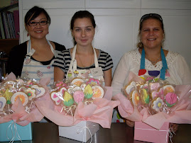 Cookie flower bouquet workshop