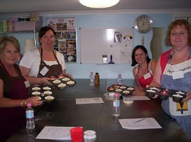 Baking cupcake workshop