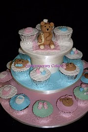 Beginners 9.Baby shower/ christening cupcake workshop