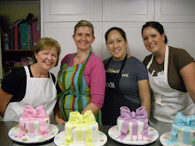 Beginners bow cake class.