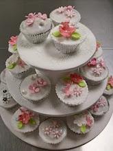 Beginners Wedding cupcake tower workshop