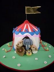 Beginners 6 Animal Circus tent class.
