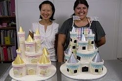 Intermediate 1 Castle cake class