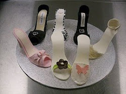 Intermediate 6 Shoe and shoe box cake class.