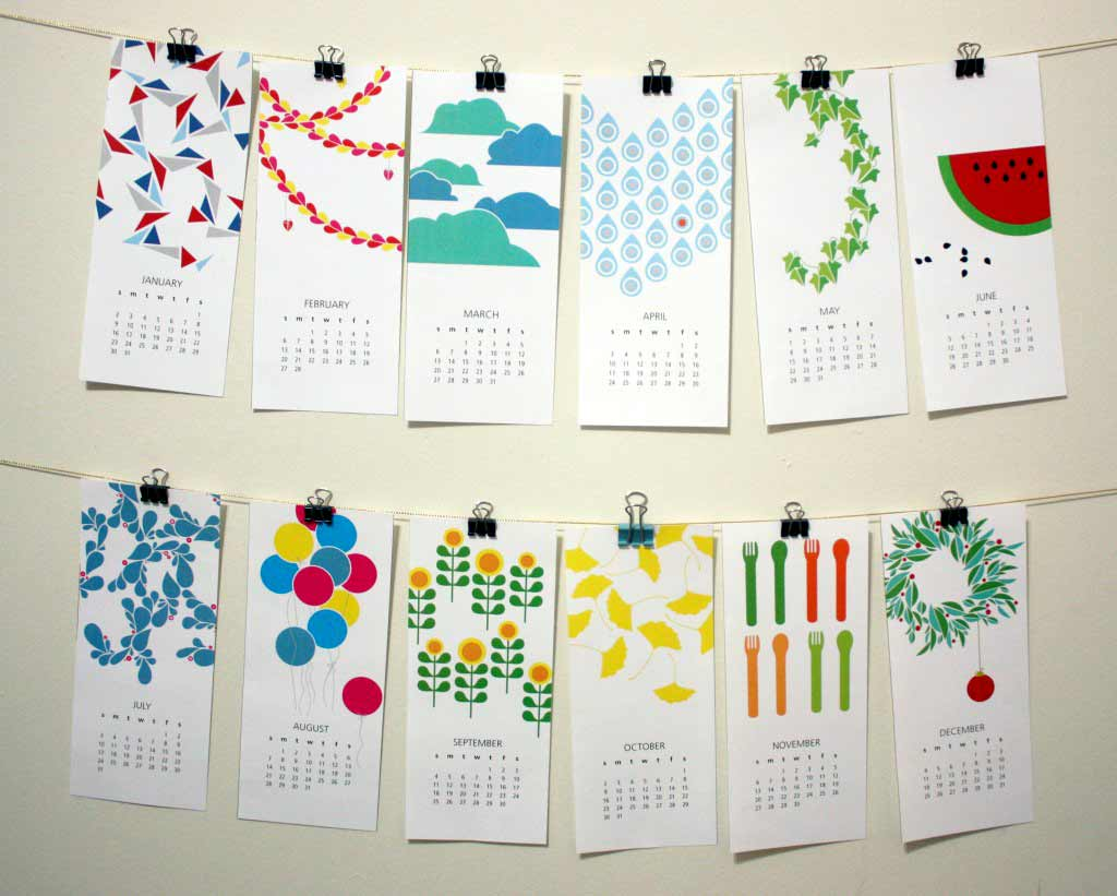 Creative Monthly Calendar Ideas : The creative place free printable calendar download