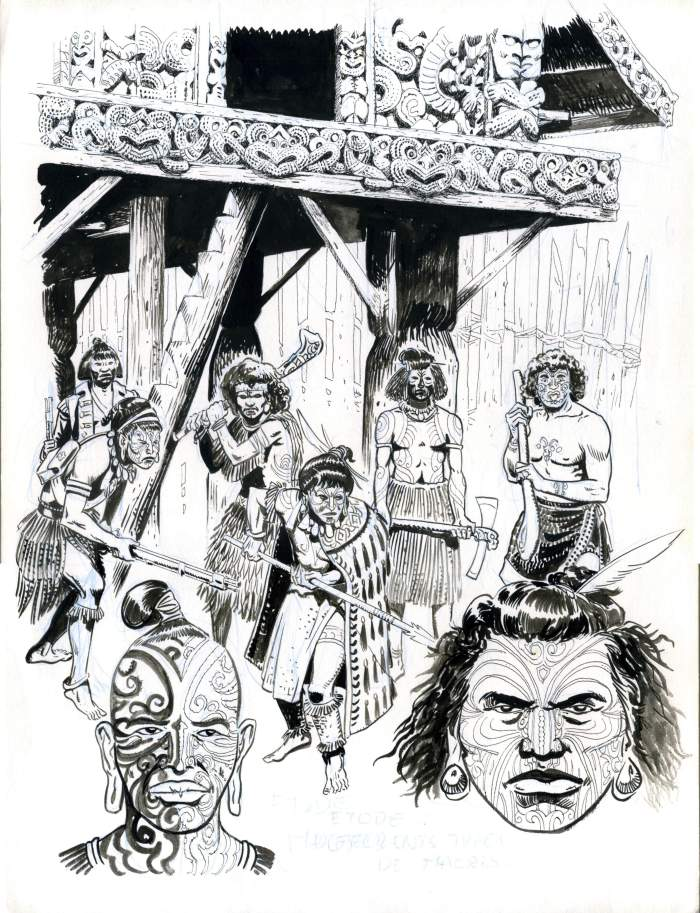 Etude de diff rents types de Maoris Etude Hawa Etude Tahitiens
