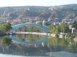 Bridge of Peace, Tbilisi - Georgia