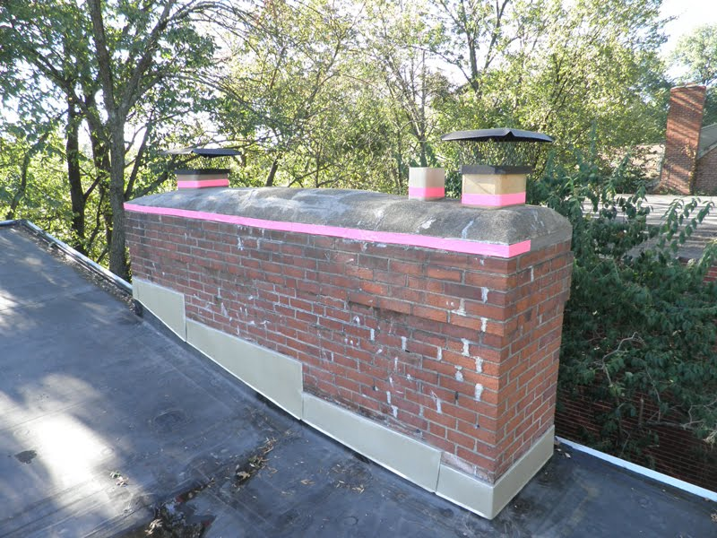 Cincinnati Modernation Diy Chimney Crown Repair