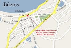 Mapa de Búzios