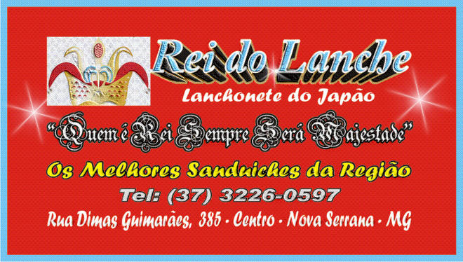 Rei do Lanche - Lanchonete do Japão