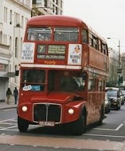 Routemaster Ônibus Vermelho